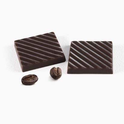 Черный шоколад с кофе