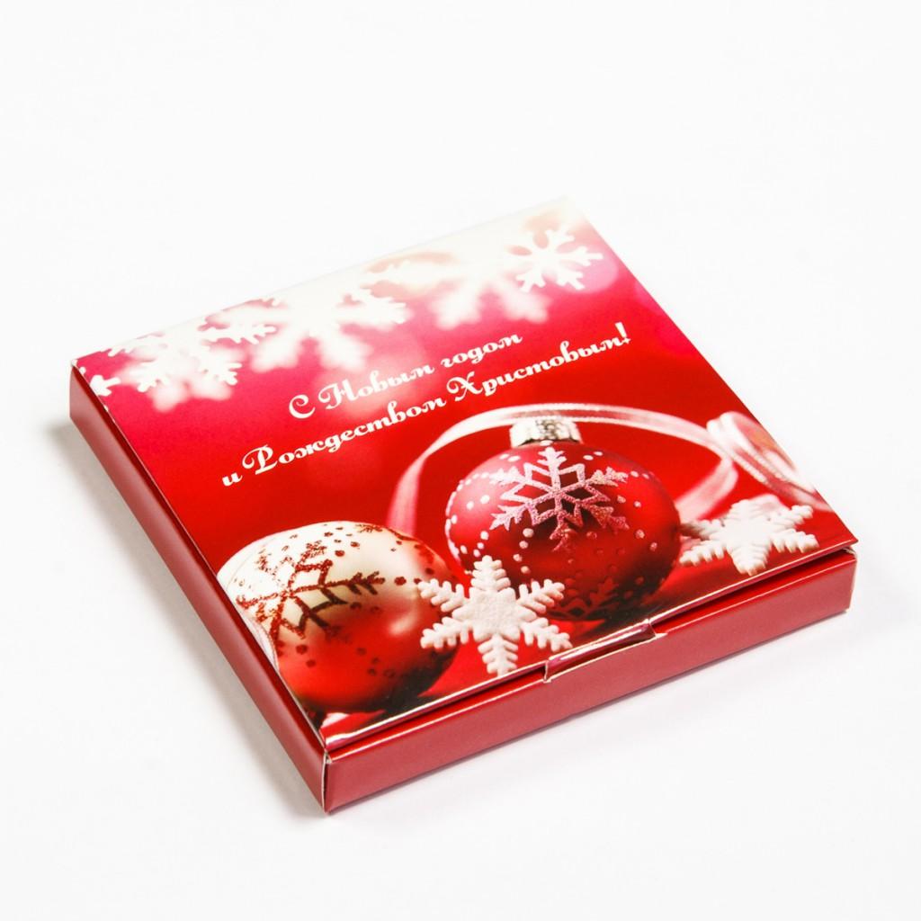 Новогодний корпоративный шоколад