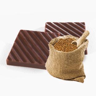 Молочный шоколад с кокосом