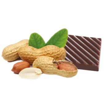 Молочный шоколад с орешками
