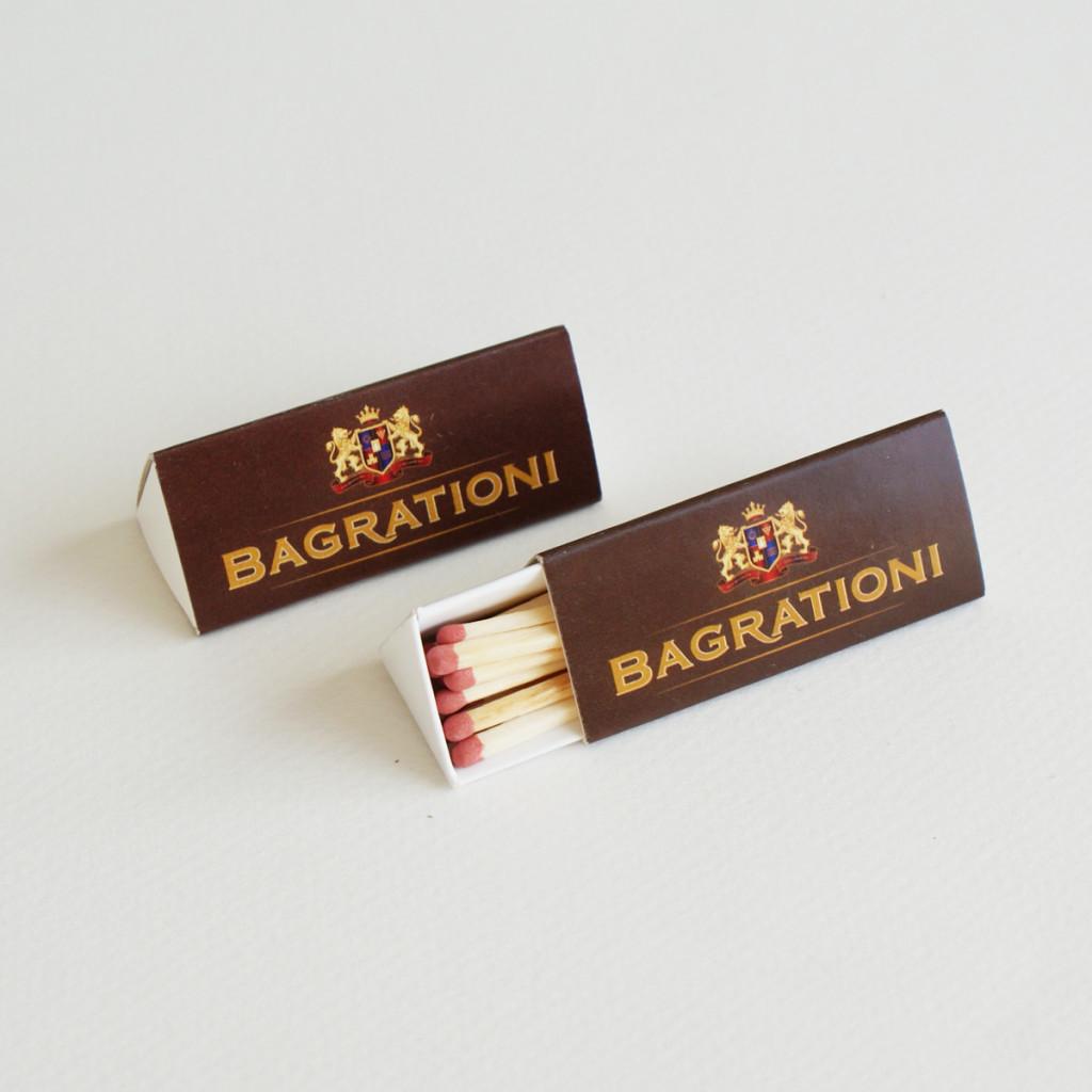 Треугольные спички Bagrationi