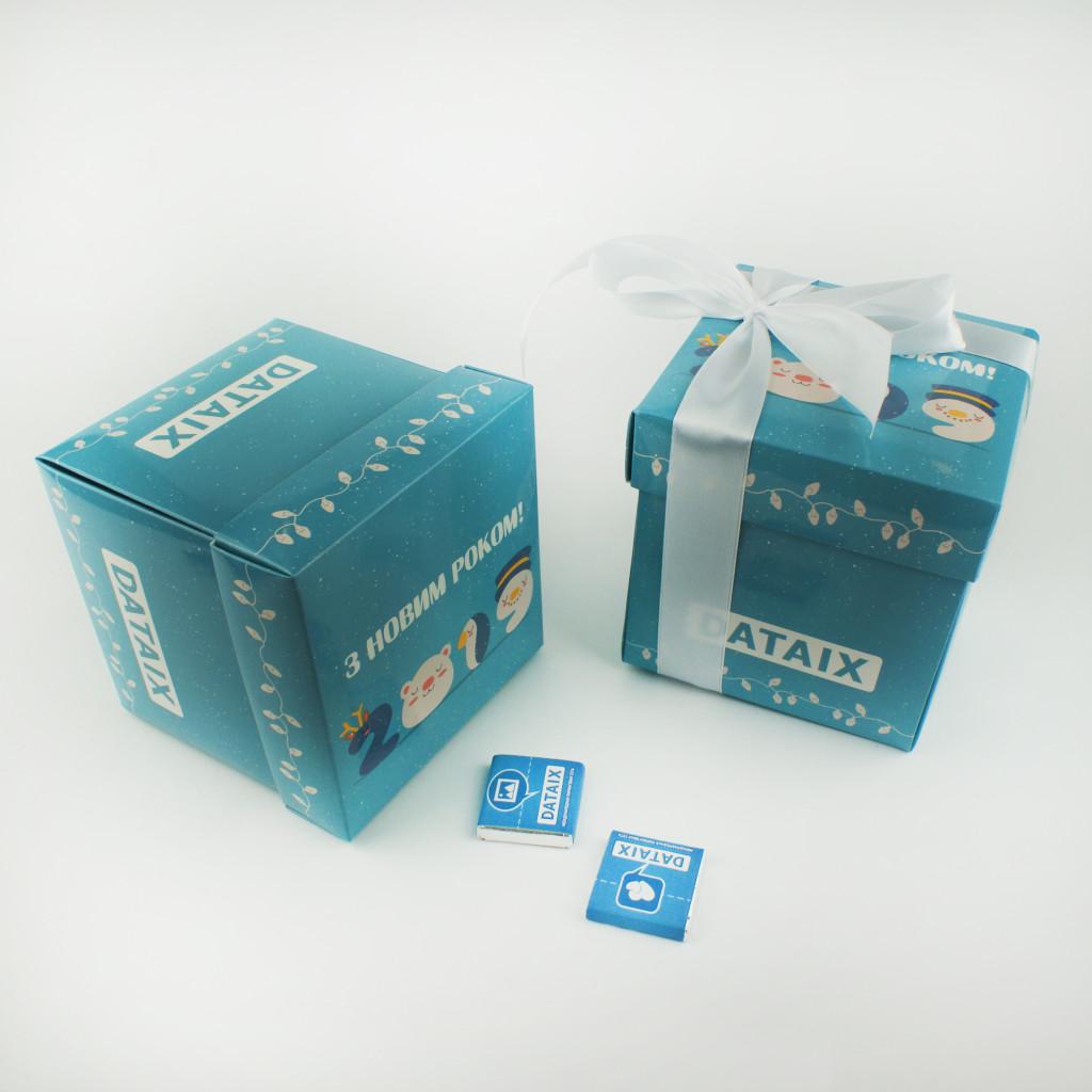 Куб 40 минишоколадок